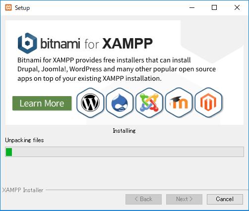 XAMPP-setup中